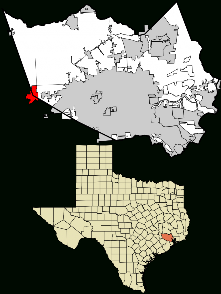 Katy, Texas - Wikipedia - Katy Texas Map