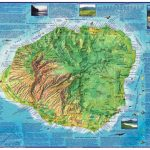 Kauai Guide Map, Laminatedfrankos Maps Ltd | Products | Hawaii   Printable Map Of Kauai Hawaii