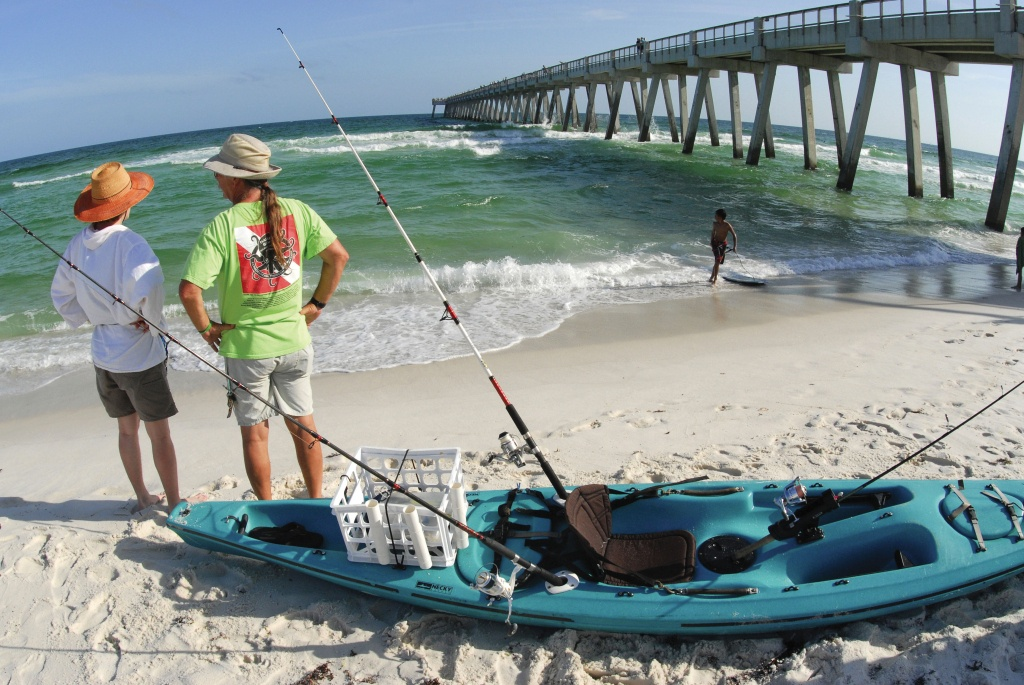 Kayaking Offshore - Texas Oil Rig Fishing Map