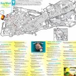 Key West Hotels And Sightseeings Map   Key West Florida Map Of Hotels