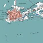 Key West Key West Map Key West Art Beach House Decor   Etsy   Printable Map Of Key West