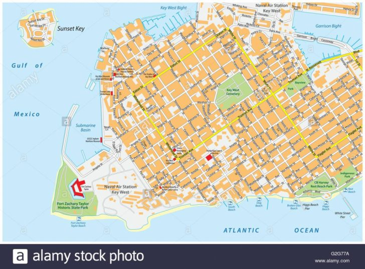 Street Map Of Key West Florida