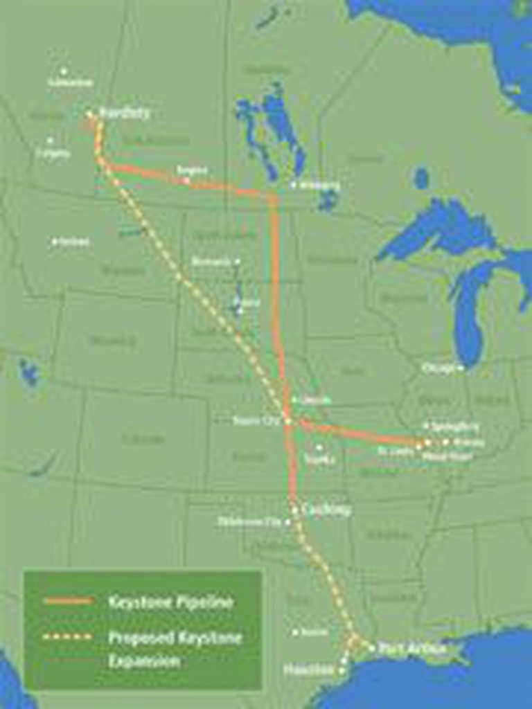 Keystone Xl Pipeline Project Prepares To Enter East Texas - Keystone Pipeline Map Texas