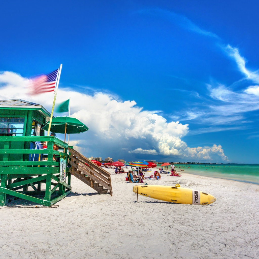 Kid-Friendly Attractions On Siesta Key, Florida [With A Map] - Siesta Key Beach Florida Map