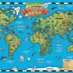Kids 1 Children S Map Of The World 7   World Wide Maps   Children's Map Of The World Printable