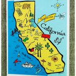 Kids Map Of California Il Fullxfull K Website Inspiration For   California Map For Kids