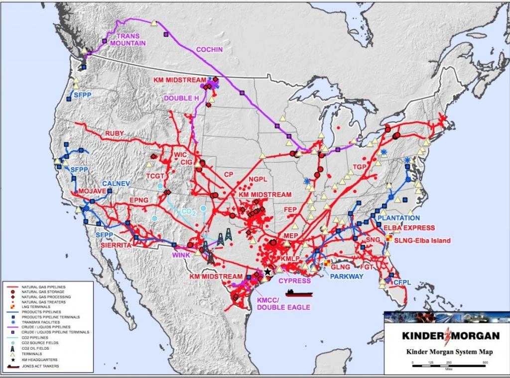 Kinder Morgan Pipeline Map   Website Map - Kinder Morgan Pipeline Map Texas