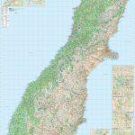Kiwmaps: New Zealand's Best Selling Maps   New Zealand South Island Map Printable