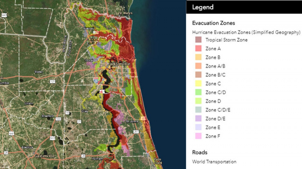 Know Your Flood/evacuation Zone - Gulf County Florida Flood Zone Map