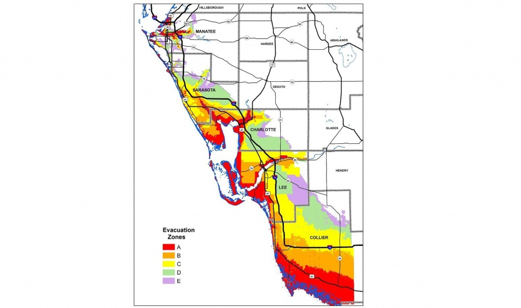 Know Your Hurricane Evacuation Zone | Wgcu News - Lee County Flood Zone Maps Florida