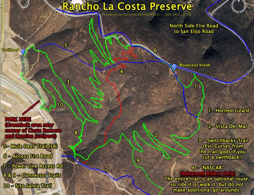 La Costa California Map | Autobedrijfmaatje - La Costa California Map