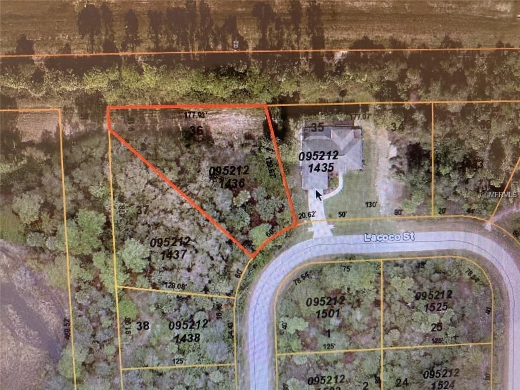 Lacoco Street, North Port, 34291 | Fannie Hillman + Associates, Inc. - North Port Florida Flood Zone Map