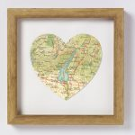 Lake Garda Italy Map Heart Printbombus | Notonthehighstreet   Printable Map Of Lake Garda