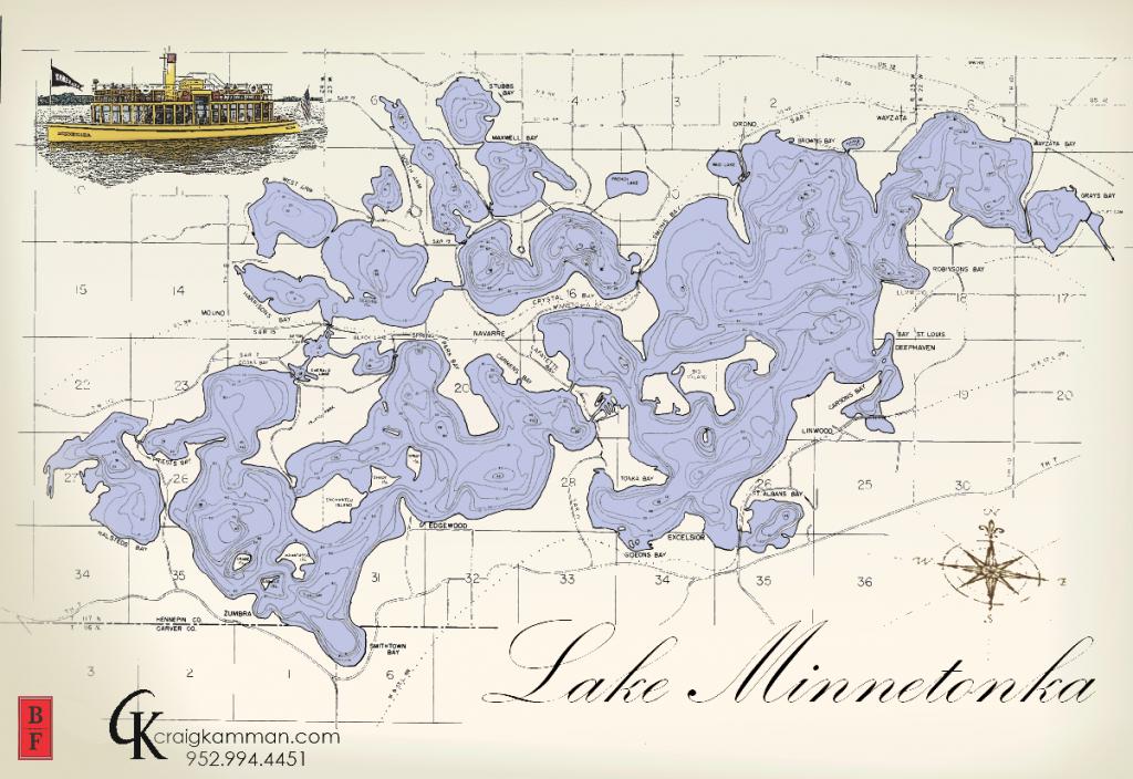 Lake Minnetonka Map - Google Search | Wood Projects | Lake Life, Map - Printable Lake Minnetonka Map