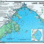 Lake Okeechobee Map | Lake Okeechobee North (North End & Lakeport   Lake Okeechobee Florida Map