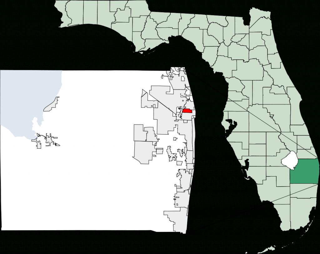 Lake Park, Florida - Wikipedia - Lauderdale Lakes Florida Map