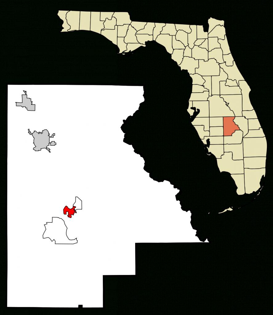 Lake Placid, Florida - Wikipedia - Lake Placid Florida Map