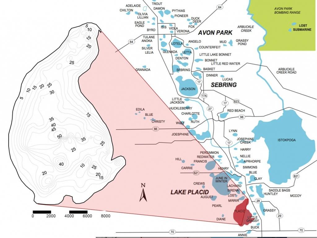 Lake Profile: Lake Placid | Coastal Angler & The Angler Magazine - Lake Placid Florida Map