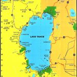 Lake Tahoe Area Maps | Detailed Lake Tahoe Area Mapregion   Map Of Lake Tahoe Area California