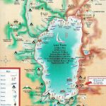 Lake Tahoe Map | California ~ Things To Do | Lake Tahoe Map, Lake   Map Of Lake Tahoe Area California