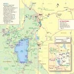 Lake Tahoe Maps And Reno Maps | Discover Reno Tahoe   Map Of Lake Tahoe Area California