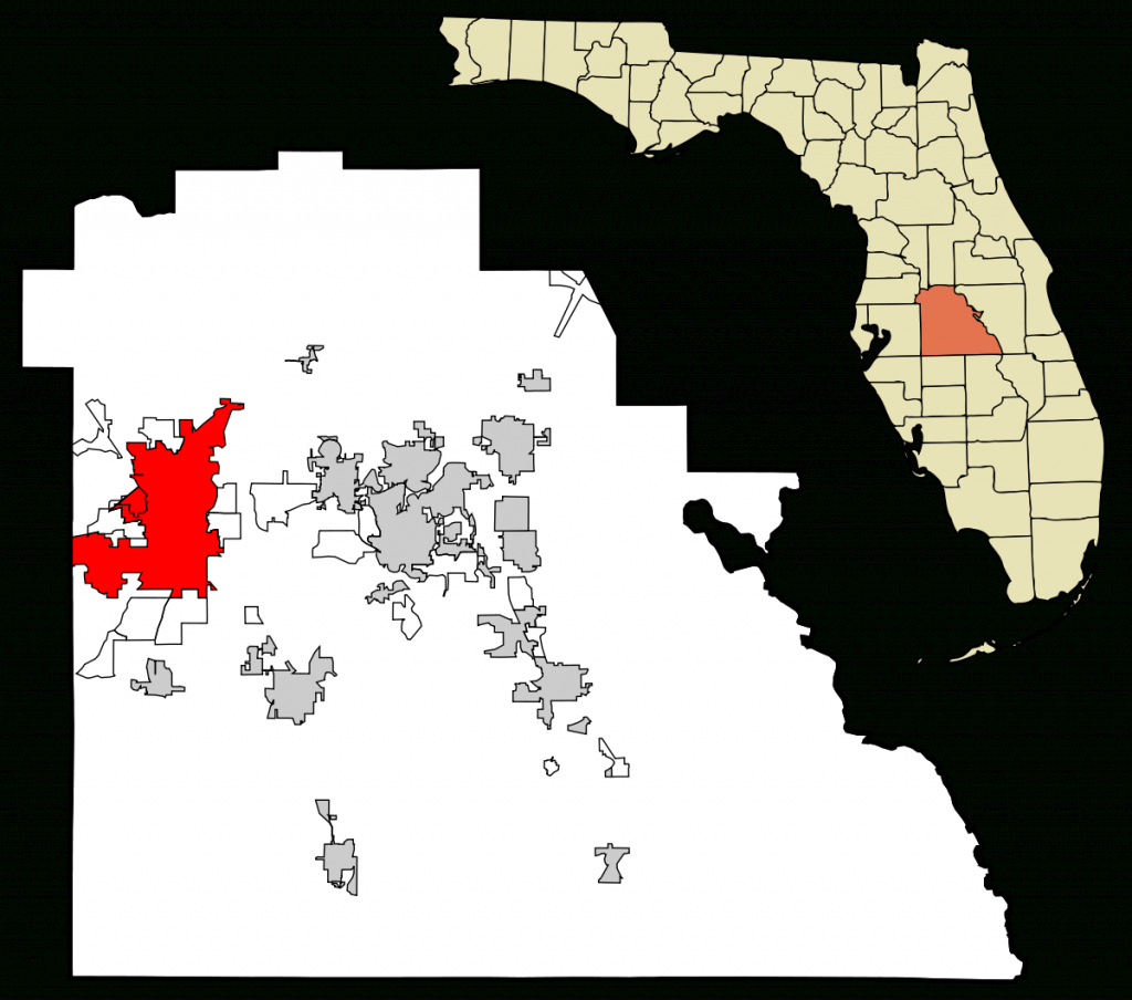 Lakeland, Florida - Wikipedia - Native American Tribes In Florida Map