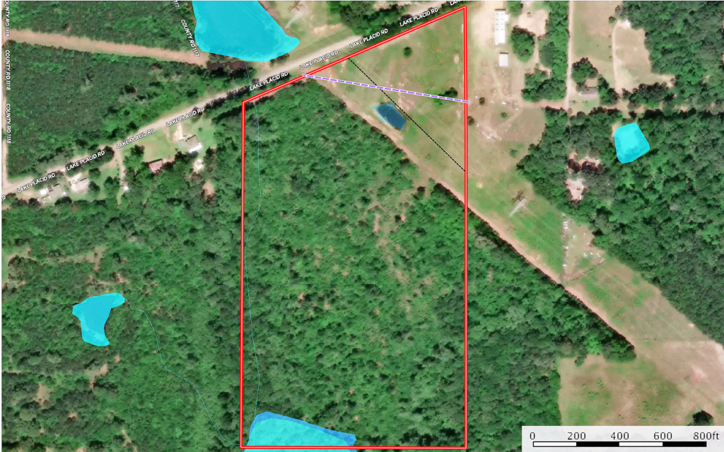 Land For Sale In East Texas Near Tyler Wooded Creek Hunting - Texas Land For Sale Map