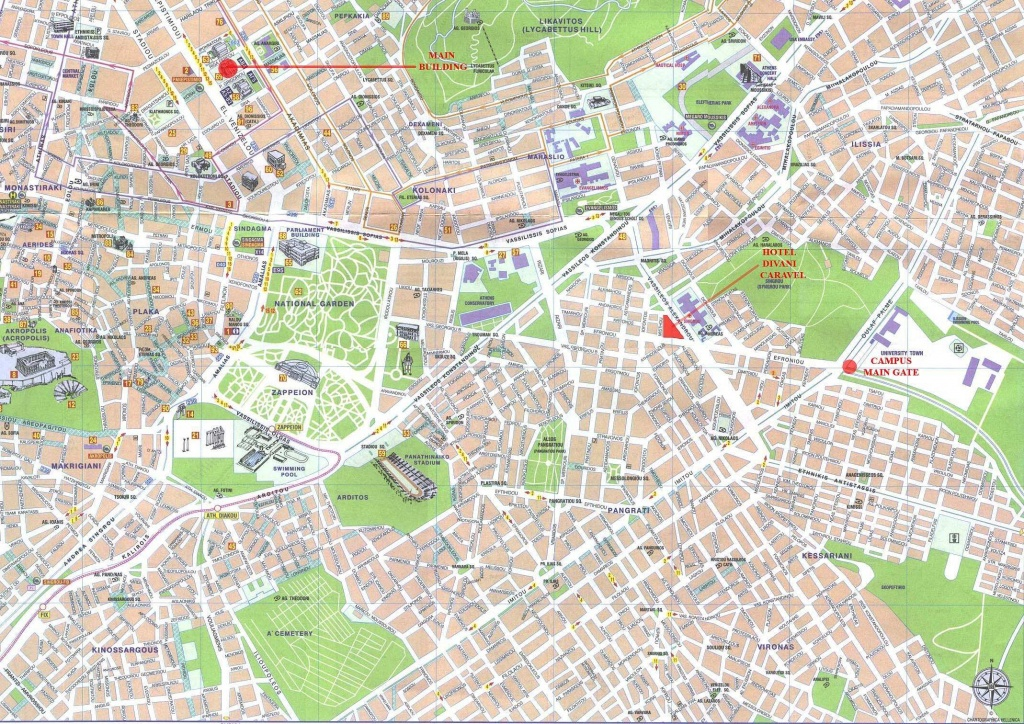 Large Athens Maps For Free Download And Print | High-Resolution And - Printable Aerial Maps