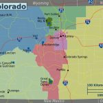 Large Colorado Maps For Free Download And Print | High Resolution   Printable Map Of Colorado Springs
