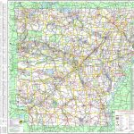 Large Detailed Map Of Arkansas With Cities And Towns   Arkansas Road Map Printable