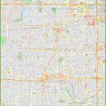 Large Detailed Map Of Arlington (Texas)   Arlington Texas Map