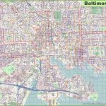 Large Detailed Map Of Baltimore   Printable Map Of Baltimore