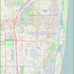 Large Detailed Map Of Boca Raton   Map Of Florida Including Boca Raton
