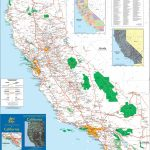 Large Detailed Map Of California With Cities And Towns   Detailed Map Of California Usa