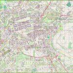 Large Detailed Map Of Edinburgh   Edinburgh City Map Printable