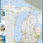 Large Detailed Map Of Michigan With Cities And Towns   Michigan County Maps Printable
