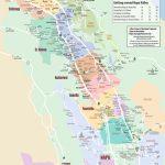 Large Detailed Map Of Napa Valley   Napa Winery Map Printable