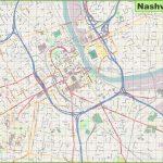 Large Detailed Map Of Nashville   Printable Map Of Nashville