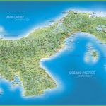Large Detailed Map Of Panama With Cities And Towns   Printable Map Of Panama