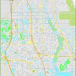 Large Detailed Map Of Port St. Lucie   Map Of Florida With Port St Lucie