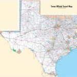 Large Detailed Map Of Texas With Cities And Towns   Large Texas Wall Map