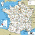 Large Detailed Road Map Of France With All Cities And Airports   Large Printable Map