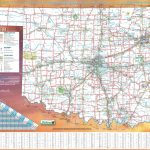 Large Detailed Road Map Of Oklahoma   Oklahoma State Map Printable