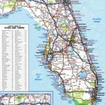 Large Detailed Roads And Highways Map Of Florida State | Vidiani   Detailed Road Map Of Florida
