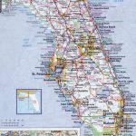 Large Detailed Roads And Highways Map Of Florida State With All   Detailed Road Map Of Florida
