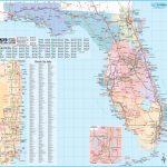 Large Detailed Tourist Map Of Florida   Florida Tourist Map