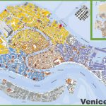 Large Detailed Tourist Map Of Venice   Venice City Map Printable