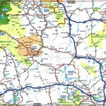 Large Detailed Tourist Map Of Wyoming With Cities And Towns   Printable Road Map Of Wyoming