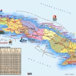 Large Detailed Travel Map Of Cuba – Printable Map Of Cuba