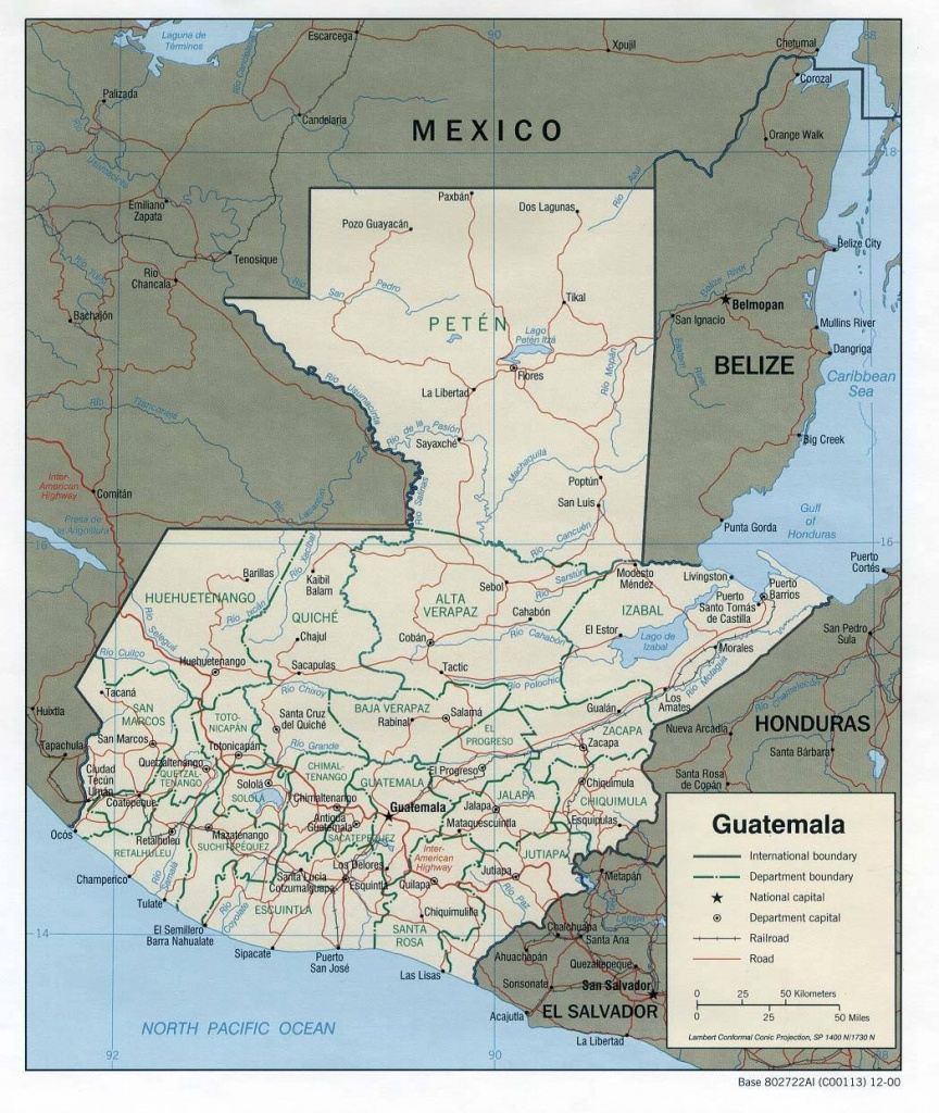 Large Guatemala City Maps For Free Download And Print | High - Printable Map Of Guatemala